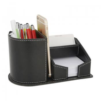 DMU-4520 - Artificial Leather Pen Holder