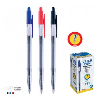 Cheap Transparent Plastic Ballpoint Pen