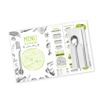 Disposable Coated  Paper Placemat