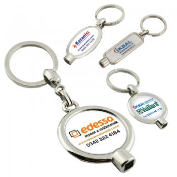 Domeks Labeled Air Vent Keychain