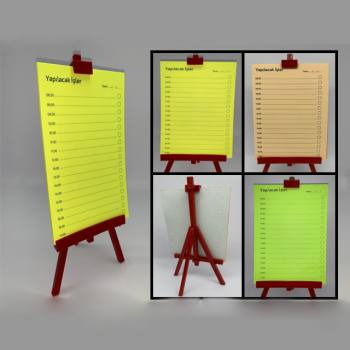 Easel Note Set