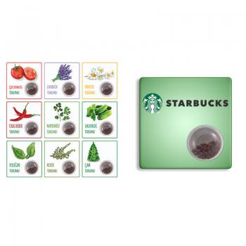 Encapsulated Seed Cards