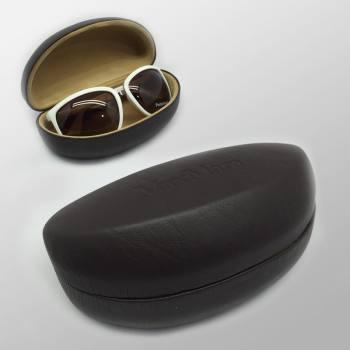 Fabric & Leader Coating Sun Glasses Case