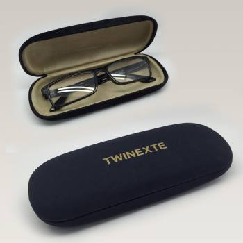 TP-15 - Fabric & Leader Coating Plastic Glasses Case