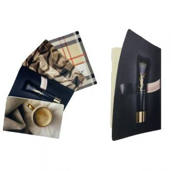 Fabric Cover Filexible Notebook (9x14 cm)
