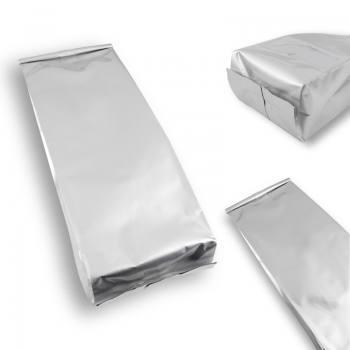 Gray Aluminum Side Gusset Bag