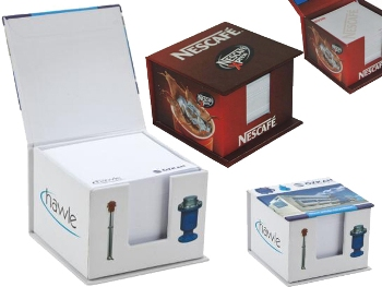 Hard Boxed Cube Memo Pad (500 Sheets)