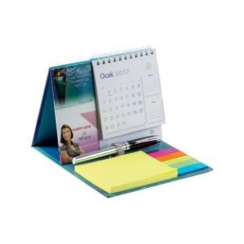 Hard Cover Table Top Calendar