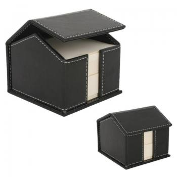 House Shaped Imitation Leather Pen Holder