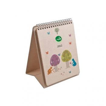 Kraft Paper Desktop Calendar