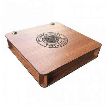 Laser Logo Engraved Wooden Gift Box