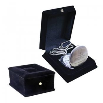 Luxury Velvet Pocket Watch Box