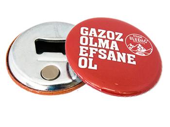 Magnet Button Bottle Opener