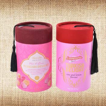 Medium Box with Velvet Fez Cover