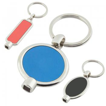 Metal Labeled Air Vent Keychain