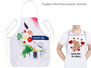 Nonwoven Kitchen Apron (Picture Printed)