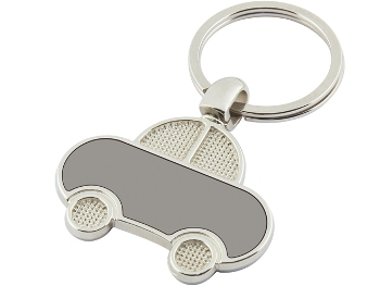 ANH-7160 - Automobile Shaped Metal Keychain