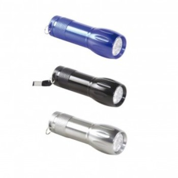 FR-4506 - Promotional 9 LED Flashlight