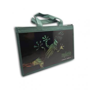 Promotional Interlining-Cardboard Bag (23x33x8 cm)
