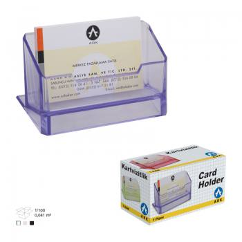 Promotional Plastic Business Card Holder