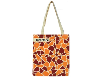 HMD-3 - Raw Cloth Bag, Digital Printed 35x45cm