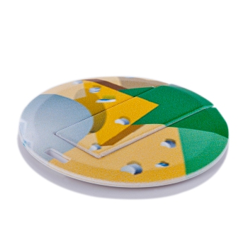 Round Shaped Card USB Memory Stick (16 GB)