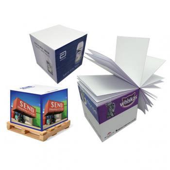 Side Printed Cube Memo Pad (6x6x6 CM)