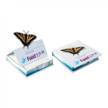 Special Shaped Cut Cover Cube Notepad